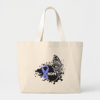 Hope Eosinophilic Disorders Butterfly Canvas Bag