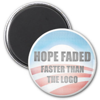 Hope Faded 6 Cm Round Magnet