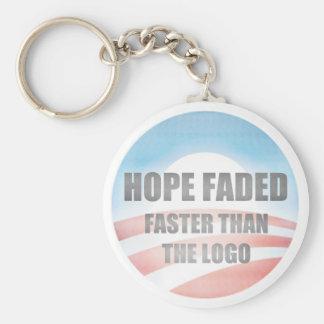 Hope Faded Key Chain