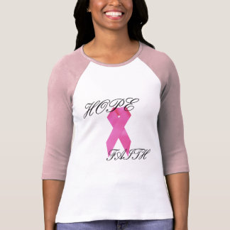 Hope/Faith Breast Cancer Shirt