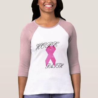 Hope/Faith Breast Cancer Shirt