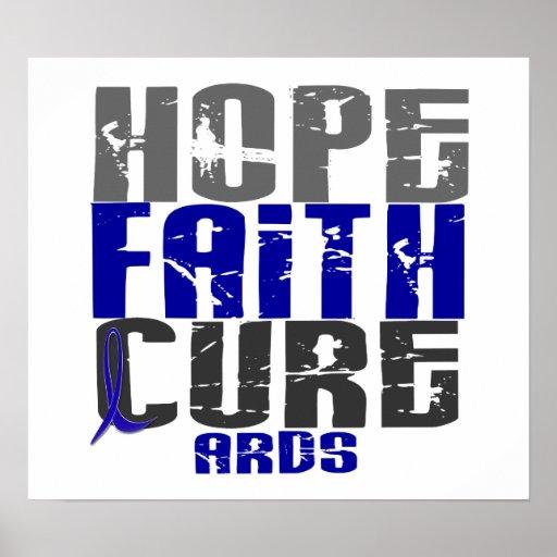 Hope Faith Cure ARDS Print