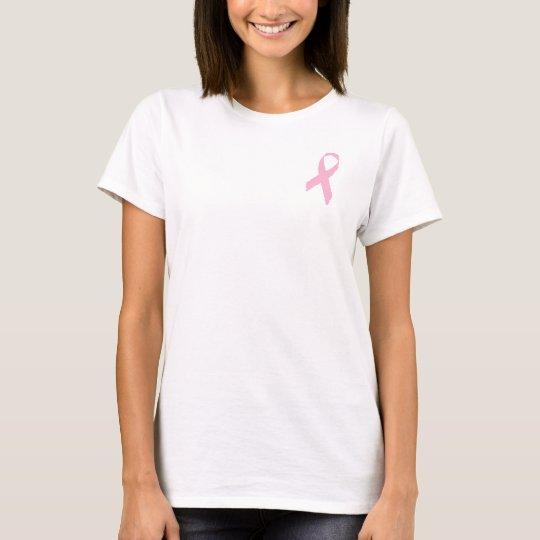 Hope. Faith. Cure (Back) T-Shirt