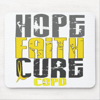 Hope Faith Cure COPD Mouse Pads