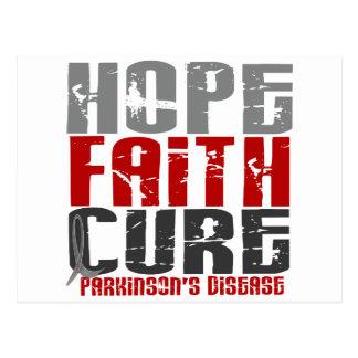 HOPE FAITH CURE PARKINSON'S DISEASE T-Shirts Postcard