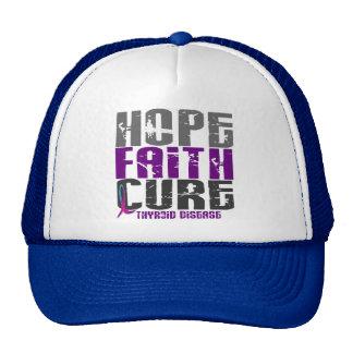 HOPE FAITH CURE THYROID DISEASE T-Shirts & Apparel Cap
