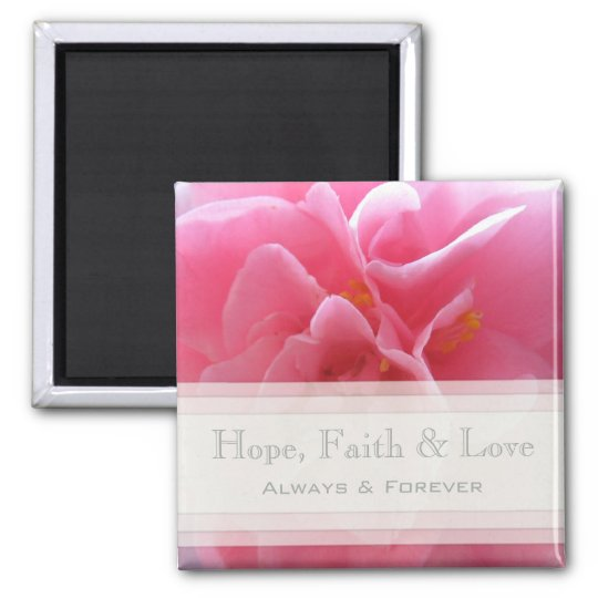 Hope, Faith & Joy Magnet