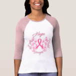 Hope Faith Love Strength Breast Cancer T-Shirt