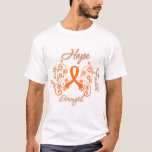 Hope Faith Love Strength Leukaemia T-Shirt