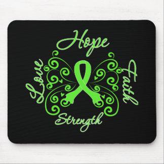Hope Faith Love Strength Lymphoma Mouse Pad