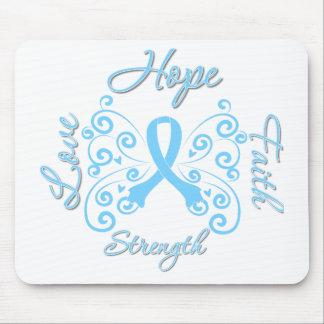 Hope Faith Love Strength Thyroid Disease Mouse Pad