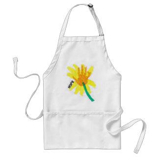 Hope Flower Standard Apron