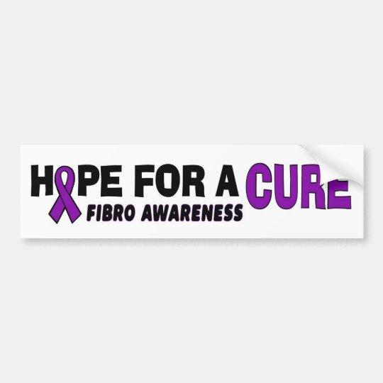 Hope For A Cure...Fibro Bumper Sticker