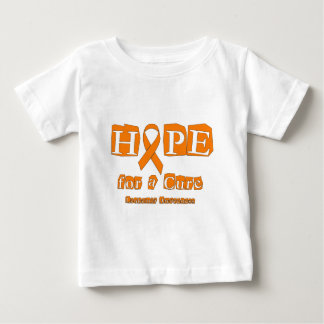 Hope for a Cure - Leukemia Baby T-Shirt