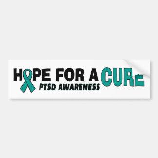 Hope For A Cure...PTSD Bumper Sticker