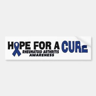 Hope For A Cure...RA Bumper Sticker