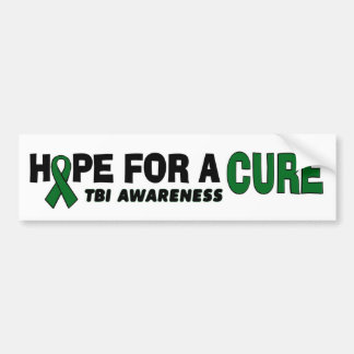 Hope For A Cure...TBI Bumper Sticker