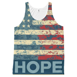 Hope for America All-Over Print Tank Top