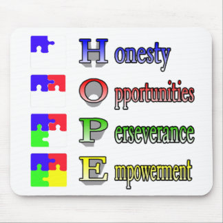 Hope for Autism Mouse Mat