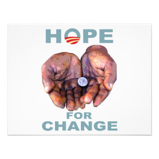 Hope for Change Personalized Invitations