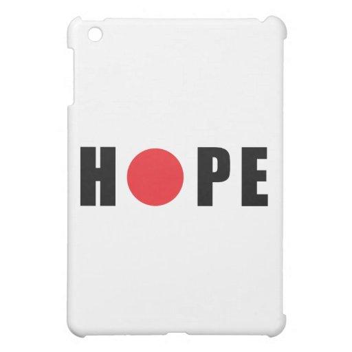 Hope for Japan - Earthquake & Tsunami Victims iPad Mini Cases