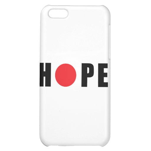 Hope for Japan - Earthquake & Tsunami Victims iPhone 5C Cases