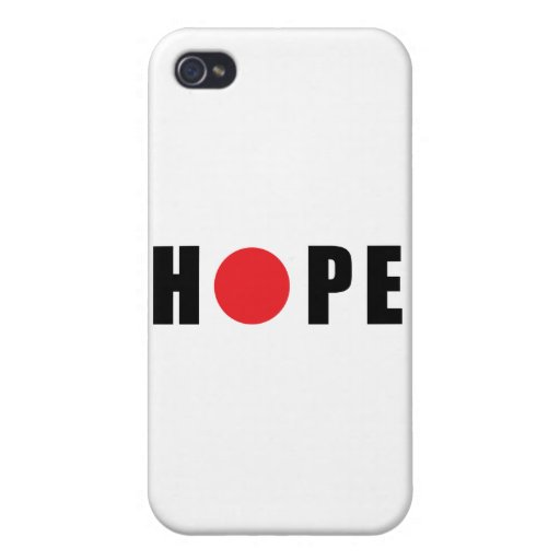 Hope for Japan - Earthquake & Tsunami Victims iPhone 4 Cases