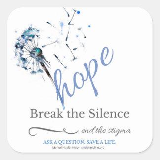 Hope for Mental Illness - Dandelion Stickers