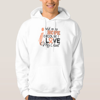 Hope For My Aunt Uterine Cancer Sweatshirt