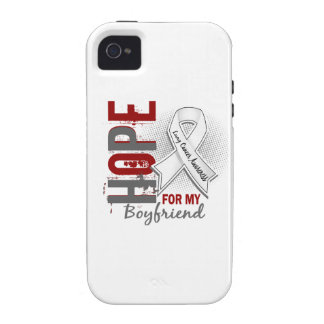 Hope For My Boyfriend Lung Cancer iPhone 4/4S Cases
