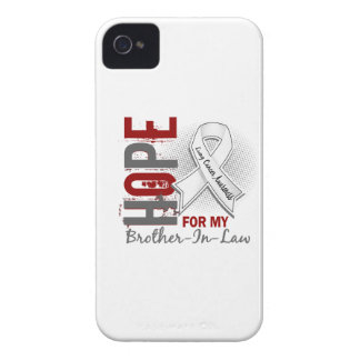 Hope For My Brother-In-Law Lung Cancer iPhone 4 Case-Mate Cases