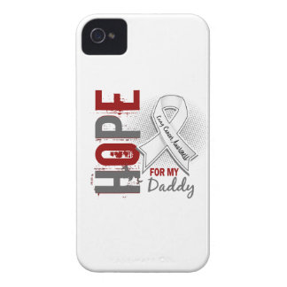 Hope For My Daddy Lung Cancer iPhone 4 Covers