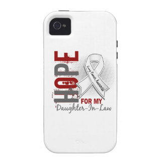 Hope For My Daughter-In-Law Lung Cancer iPhone 4/4S Cover