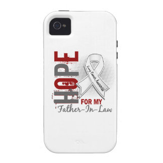 Hope For My Father-In-Law Lung Cancer Vibe iPhone 4 Covers