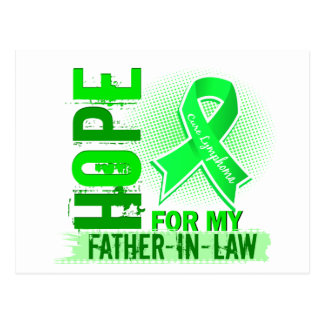 Hope For My Father-In-Law Lymphoma Postcard