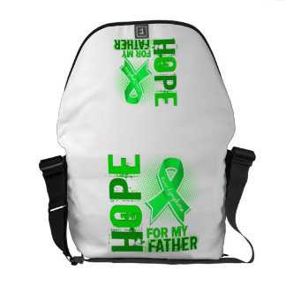 Hope For My Father Lymphoma Messenger Bags
