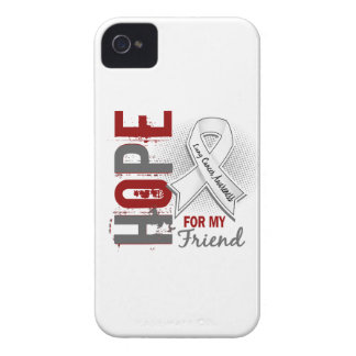 Hope For My Friend Lung Cancer iPhone 4 Covers