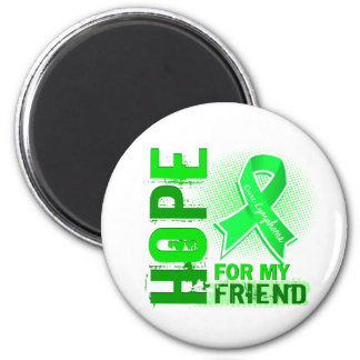 Hope For My Friend Lymphoma Fridge Magnet