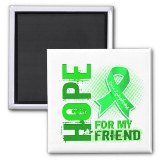 Hope For My Friend Lymphoma Refrigerator Magnets