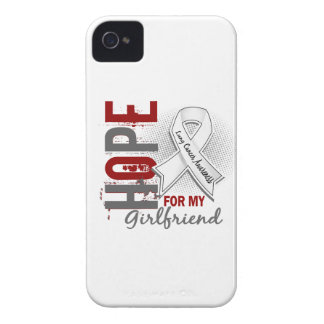 Hope For My Girlfriend Lung Cancer Case-Mate iPhone 4 Case
