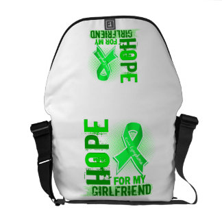 Hope For My Girlfriend Lymphoma Courier Bags