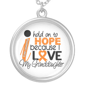Hope For My Granddaughter Leukaemia Necklace