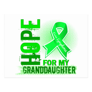 Hope For My Granddaughter Lymphoma Postcard
