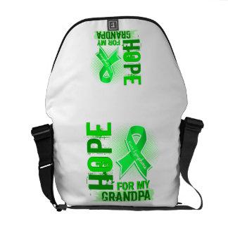 Hope For My Grandpa Lymphoma Messenger Bags