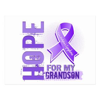 Hope For My Grandson Hodgkins Lymphoma Postcard