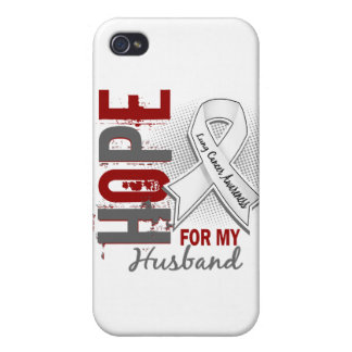 Hope For My Husband Lung Cancer iPhone 4/4S Covers