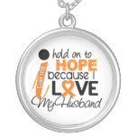 Hope For My Husband Multiple Sclerosis MS Custom Necklace