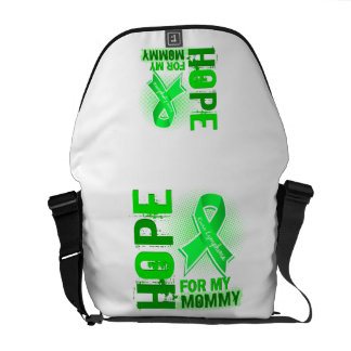 Hope For My Mommy Lymphoma Courier Bags