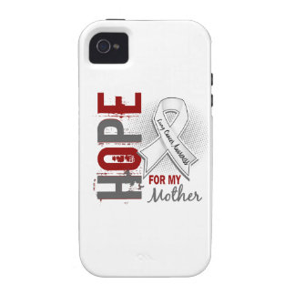 Hope For My Mother Lung Cancer iPhone 4 Cover