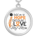Hope For My Mum Multiple Sclerosis MS Round Pendant Necklace